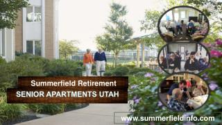 Senior Apartments Utah