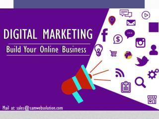 Digital Marketing Service Company in Bangalore � India