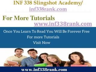 INF 338 Slingshot Academy / inf338rank.com