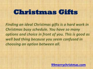 Christmas Gifts in USA - Two words: Christmas card