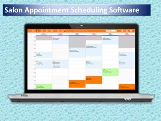 Salon Appointment Scheduling Software
