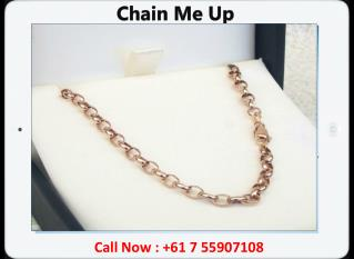 Buy Solid Gold Chains Online