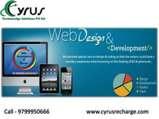 Cyrus Recharge Solution - Start Your Own Business of Travel Portal and Mobile Recharge with us