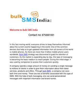 Bulk SMS Broadcasting Success for your Business