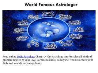Online Horoscope Reading