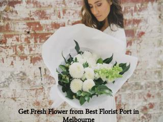 Get Fresh Flower from Best Florist Port in Melbourne