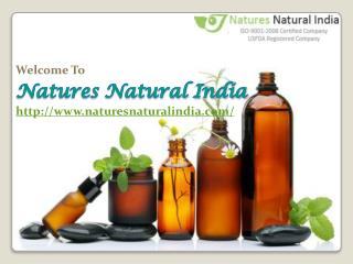 Naturesnaturalindia.com: Buy Pure and Natural Essential Oils Online