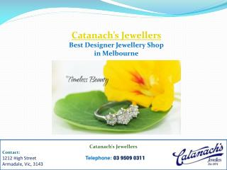 Best Designer Jewellery Shop in Melbourne