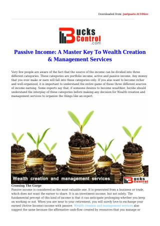 Choose online financial advisor in India