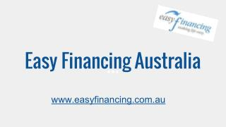 Easy Finance Loans in Australia