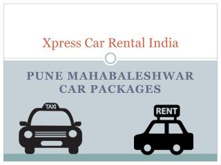 Pune Mahabaleshwar car packages