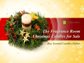 Buy Online Christmas Scented Candles in Australia