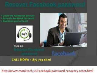 Difficulties in FB login call 1-877-729-6626 Recover Facebook password