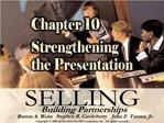 Chapter 10 Topics