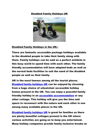 Disabled family holidays UK.pdf