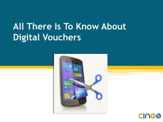 All there is to know about digital vouchers