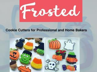 Shop Cookie Cutters for Professional and Home Bakers