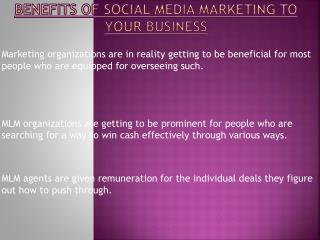 Social Media Marketing Can Boost Your Business