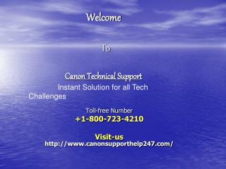 Canon Printer Technical Support Help