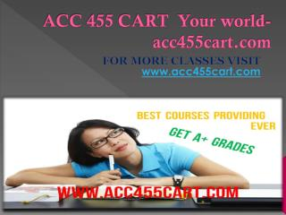 ACC 455 CART  Your world-acc455cart.com