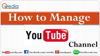 How To Optimize Youtube Channel