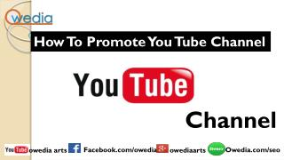YouTube video promotion service | YouTube video marketing service