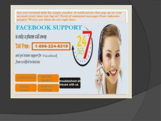 Need to change Facebook password? Simply dial 1-866-224-8319 to get Facebook Support