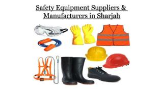 Industrial Safety Equipment in Sharjah