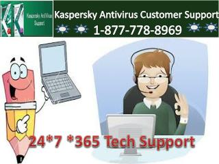Enjoy Nonstop Work With(1-877-778-8969) Kaspersky Antivirus tech Support