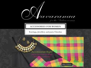 Women's Accessories Online Shopping | Aavaranaa