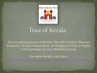 Tour of Kerala
