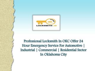 What Does A Car Locksmith OKC Do?