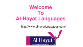 Al Hayat languages