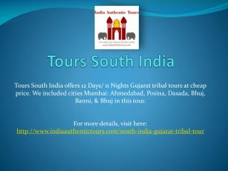 Tours south India