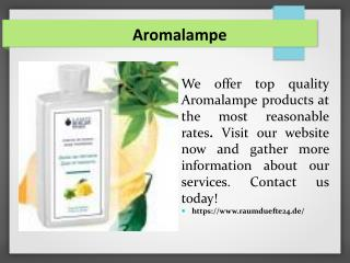 Aromalampe