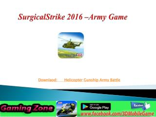 Surgical Strike By Commando