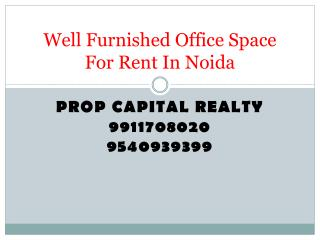 Fullyfurnished Office Space For Rent In Noida