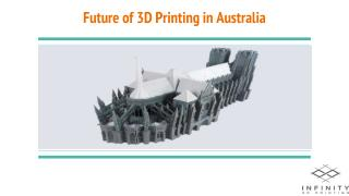 Future of 3D Printing in Australia