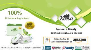 Keeva Organics - Pure Tea Tree Oil for Acne