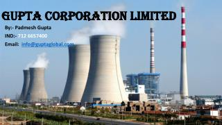 Gupta Corporation Limited