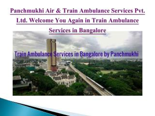 Emergency Train Ambulance Services in Bangalore