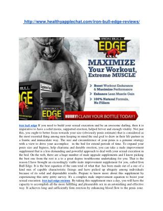 http://www.healthyapplechat.com/iron-bull-edge-reviews/
