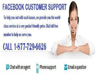 Require Facebook Customer Support Number? Call 1-877-729-6626