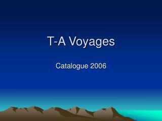T-A Voyages