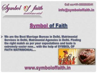 Best marriage bureau in Delhi