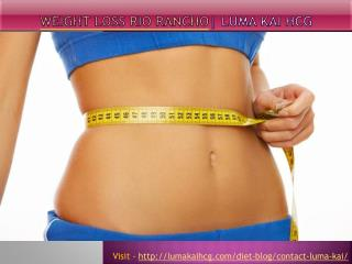 Weight Loss Rio Rancho - Luma Kai hCG