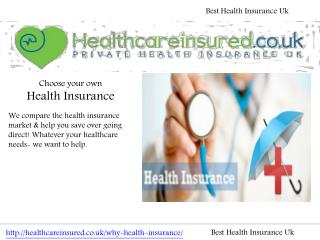 Best Health Insurance Uk