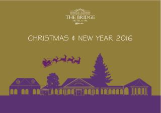 2016 Christmas & New Year Brochure