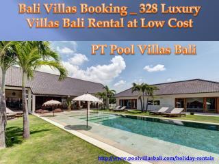 Pool Villas Bali