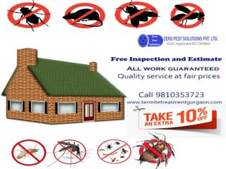 Free home inspection on termite control services.  Call 9810353723.